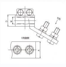 SBT铜变压器线夹(特制带扣)